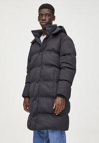 PULL&BEAR - Cappotto invernale - black - 3