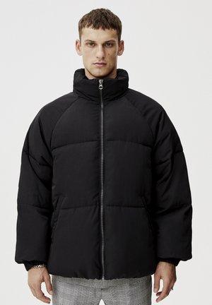 Winterjas - mottled black