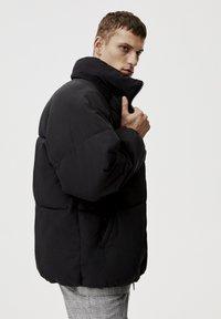 PULL&BEAR - Winterjas - mottled black - 3
