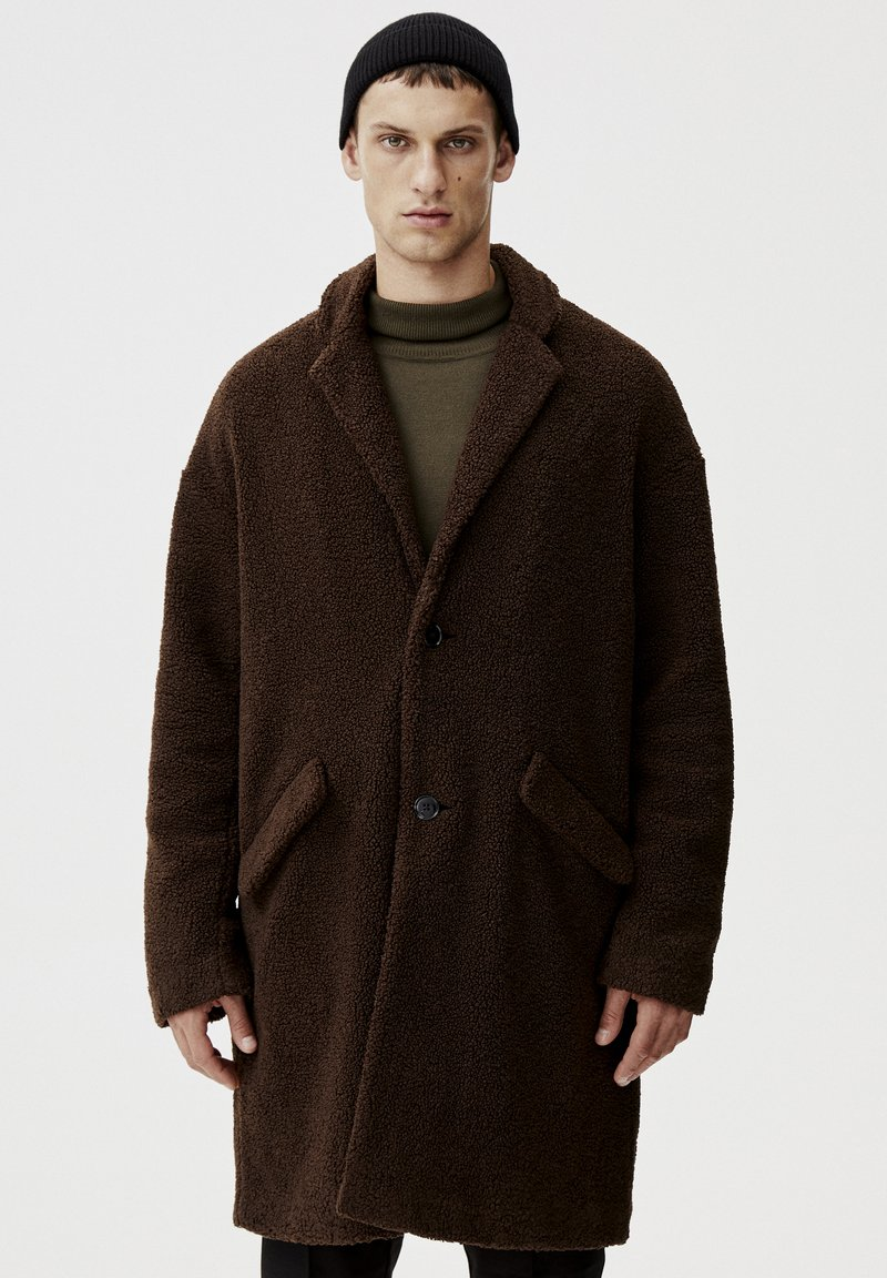 PULL&BEAR - Winterjas - dark brown