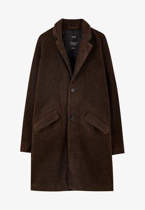 Płaszcz zimowy - dark brown