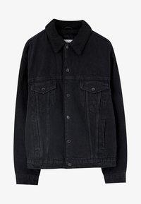 PULL&BEAR - Džínová bunda - black - 6