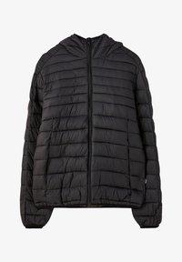 PULL&BEAR - MIT KAPUZE - Zimní bunda - black - 6