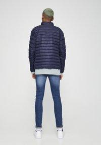 PULL&BEAR - Zimní bunda - dark blue - 2