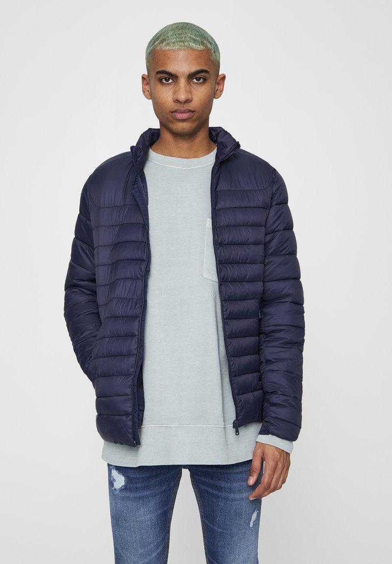 PULL&BEAR - Zimní bunda - dark blue