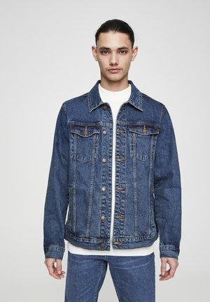 Džínová bunda - stone blue denim