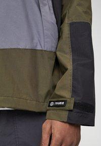 PULL&BEAR - Vodotěsná bunda - khaki - 5
