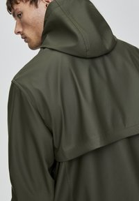PULL&BEAR - Impermeabile - dark green