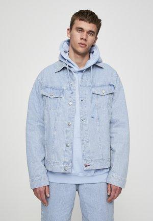 Kurtka jeansowa - mottled dark blue