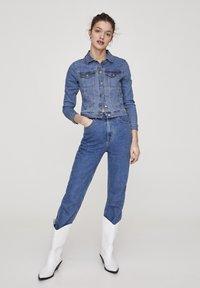 PULL&BEAR - Veste en jean - light blue - 1