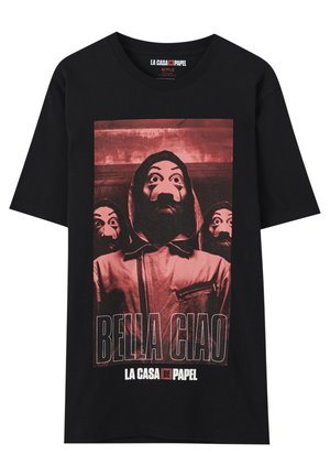LA CASA DE PAPEL - T-Shirt print - black
