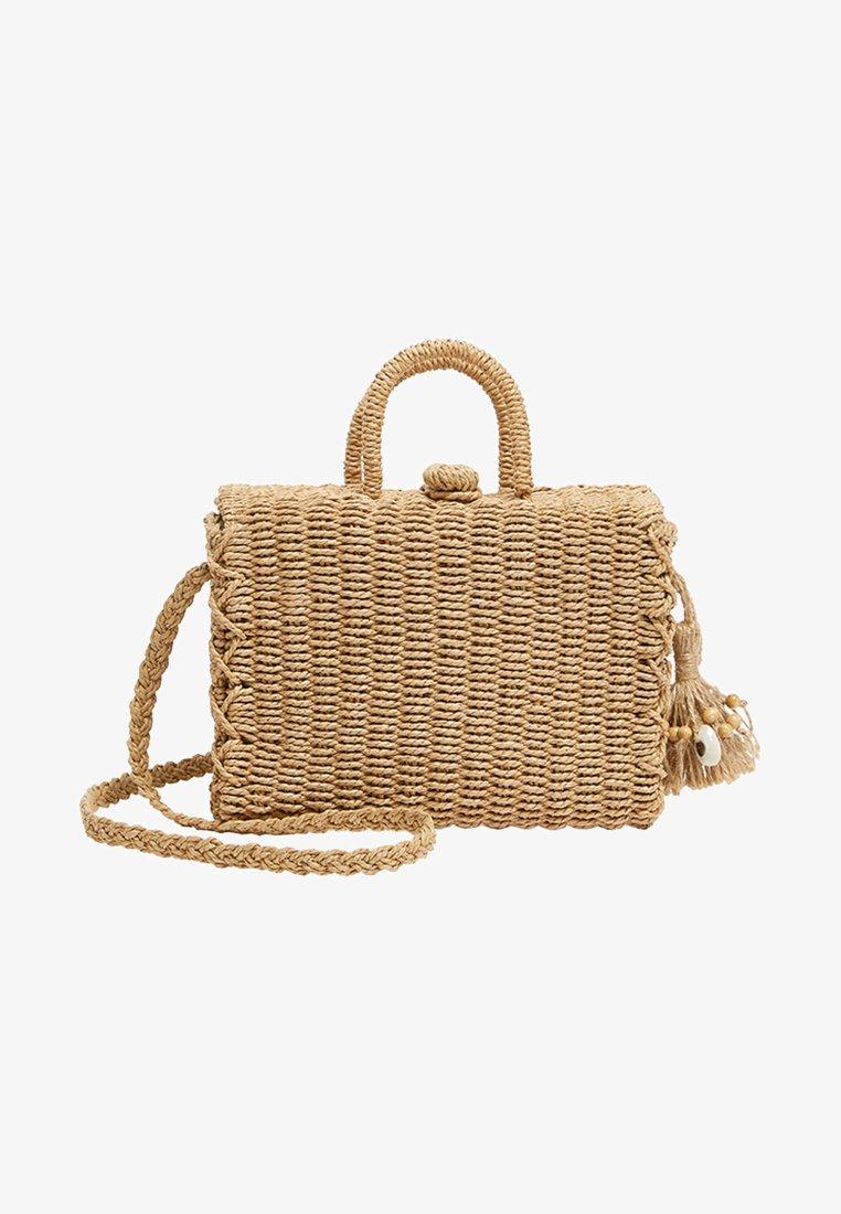 PULL&BEAR - Håndtasker - beige