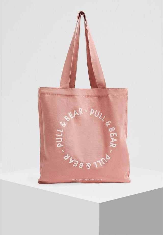 ROSA SHOPPER MIT LOGO 14024540 - Shopping bag - rose