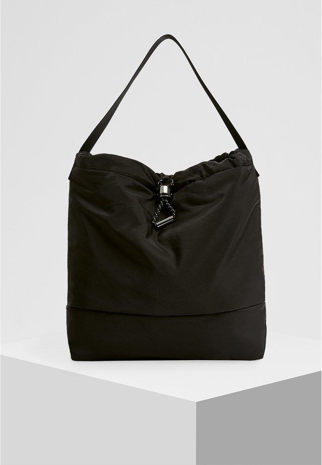 SHOPPER AUS NYLON 14027540 - Shopping bag - black