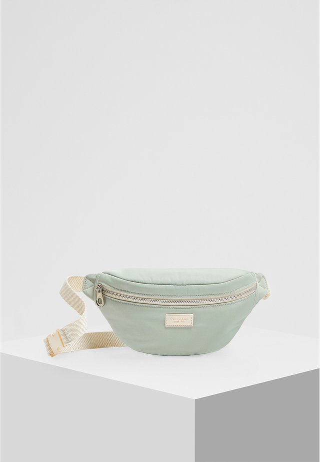 MIT LOGO  - Saszetka nerka - turquoise
