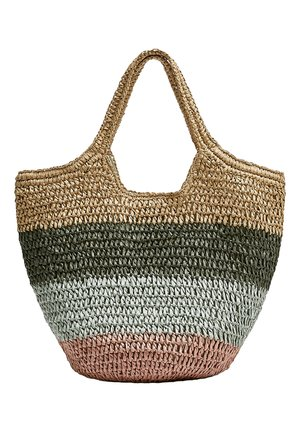 BUNTER SHOPPER 14135540 - Shopping bags - sand
