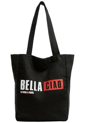 LA CASA DE PAPEL - Shopping Bag - black