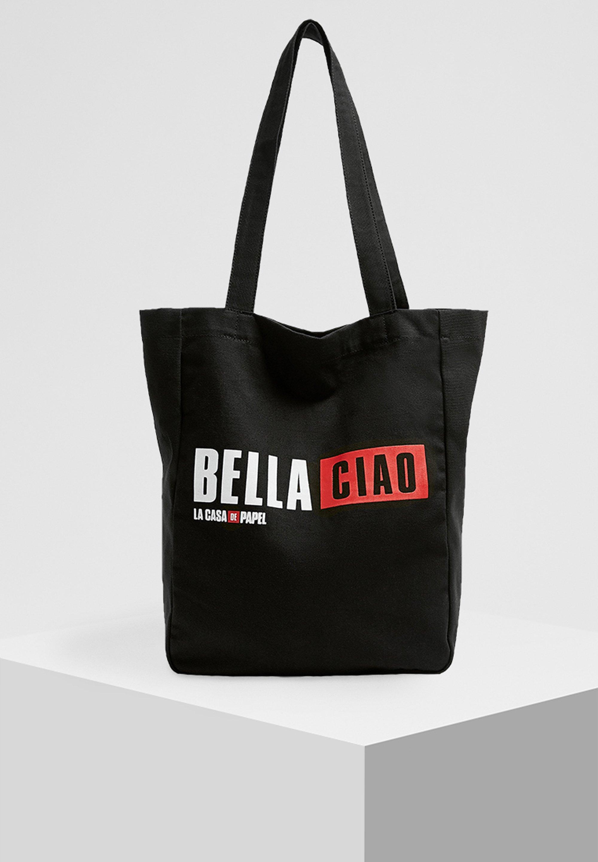 PULL&BEAR LA CASA DE PAPEL - Shopping bags - black