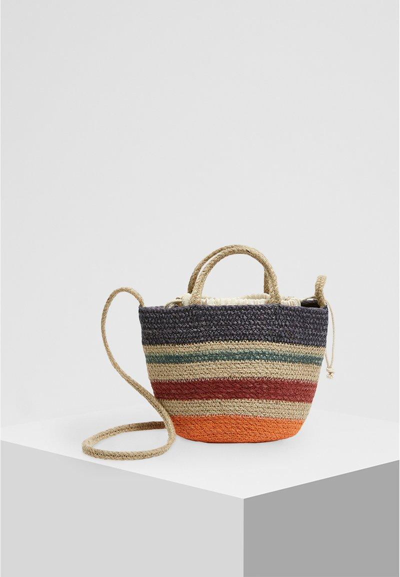 PULL&BEAR - Taška spříčným popruhem - multi-coloured
