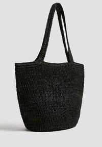 PULL&BEAR - Velká kabelka - black - 2