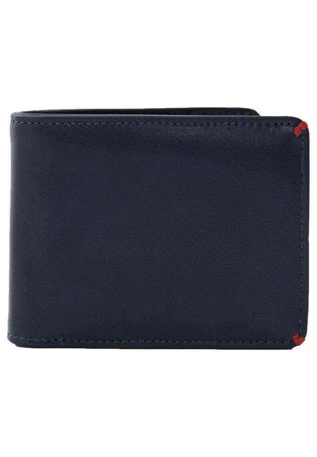 SCHWARZE BRIEFTASCHE MIT ROTEN STREIFEN 05817507 - Wallet - dark blue