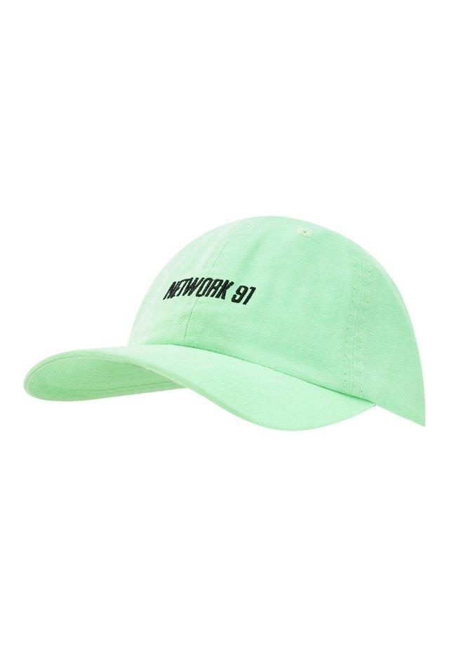 Cap - neon green