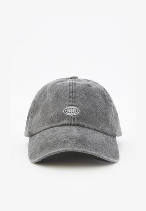 MIT LOGO  - Lippalakki - mottled dark grey