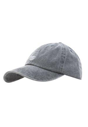 MIT LOGO  - Cap - mottled dark grey