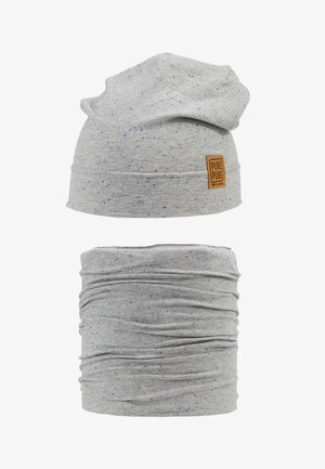 BEANIE SET - Bonnet - grey