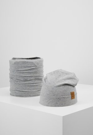 BEANIE SET - Berretto - grey