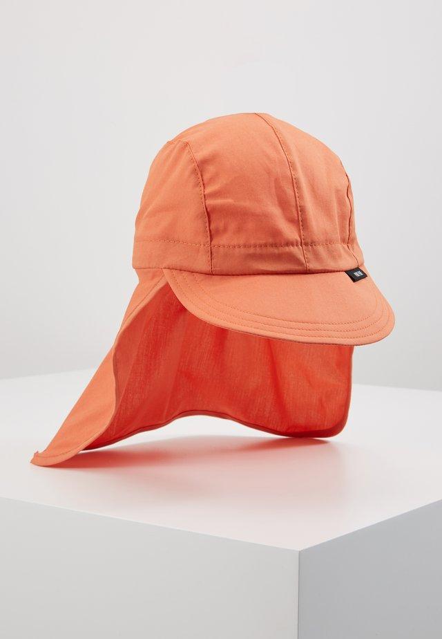 KIDS MIT NACKENSCHUTZ  - Klobouk - papaya