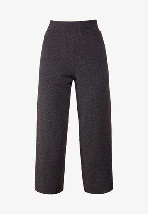 LOOSE FIT PANTS - Pantalones - graphite