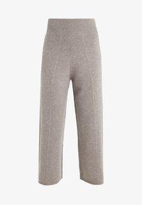 pure cashmere - LOOSE FIT PANTS - Pantalon classique - beige - 3