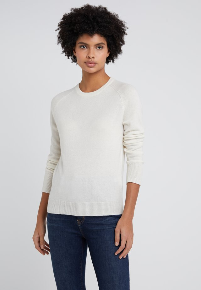 CLASSIC CREW NECK  - Pullover - ivory