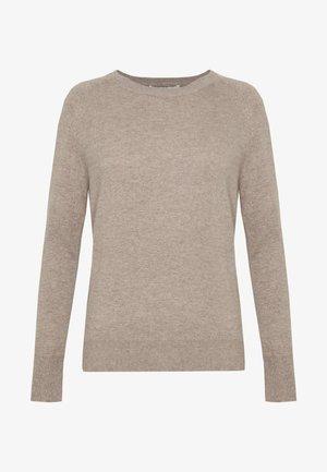CLASSIC CREW NECK  - Pullover - beige
