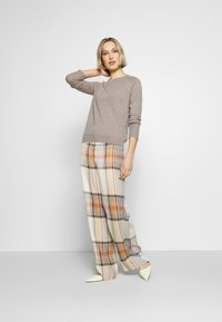 pure cashmere - CLASSIC CREW NECK  - Neule - beige - 1