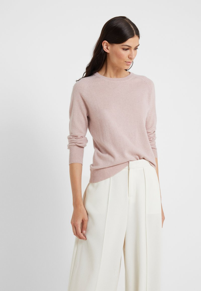 pure cashmere - CLASSIC CREW NECK  - Jumper - dust pink