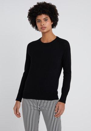CLASSIC CREW NECK  - Sweter - black