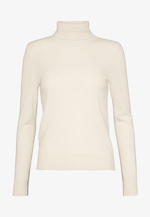 TURTLENECK SWEATER - Pullover - ivory