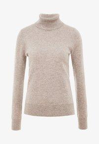 pure cashmere - TURTLENECK SWEATER - Trui - beige - 3