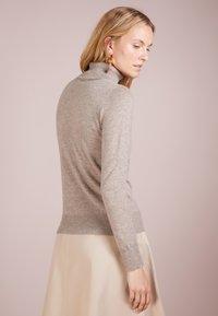 pure cashmere - TURTLENECK SWEATER - Trui - beige - 2