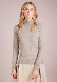 pure cashmere - TURTLENECK SWEATER - Trui - beige - 0