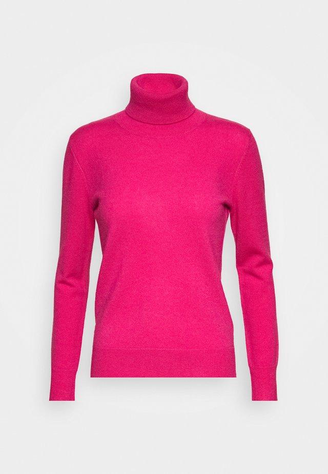 TURTLENECK - Strickpullover - hot pink