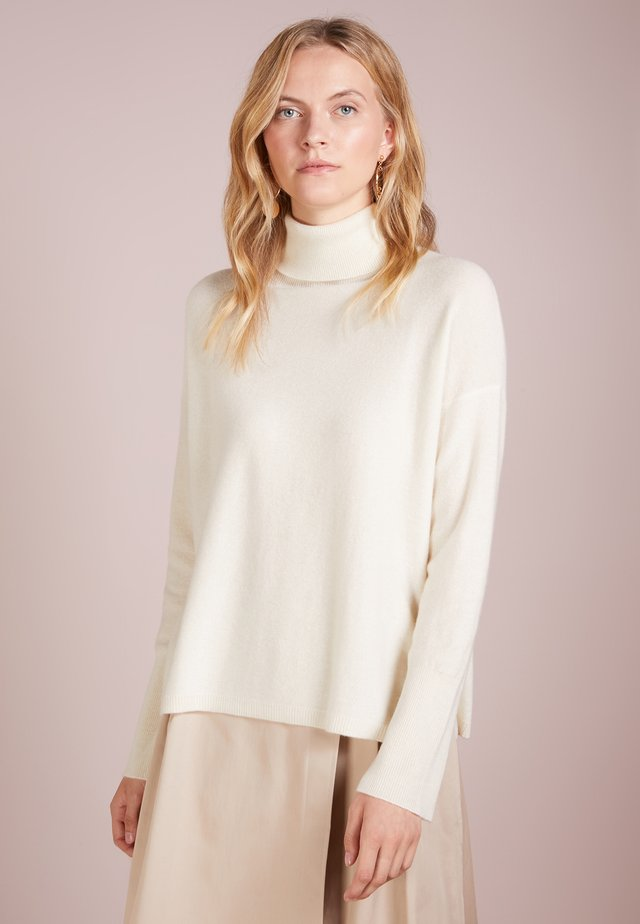 TURTLENECK - Strikkegenser - ivory