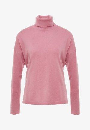 TURTLENECK LOOSEFIT - Pullover - rose pink