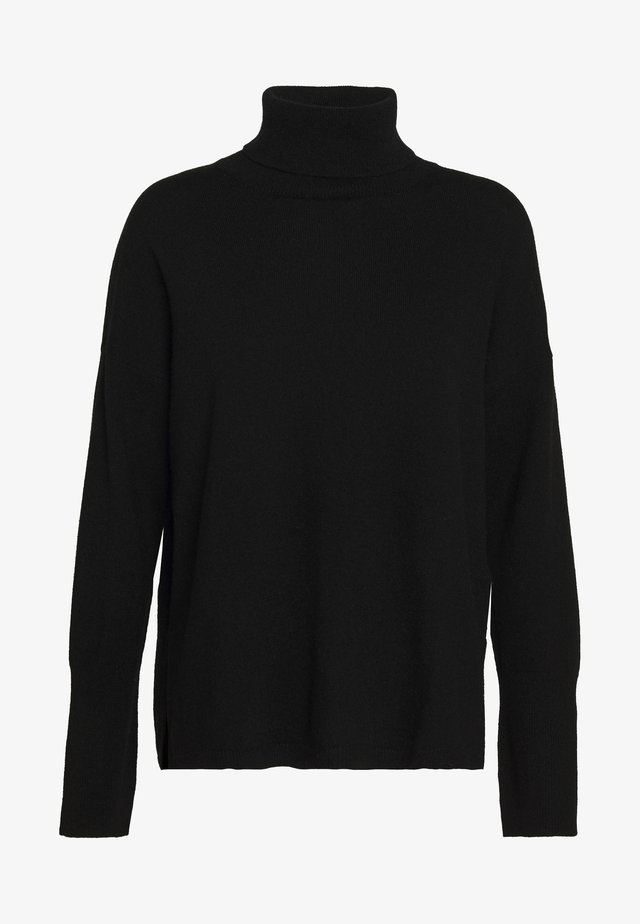 TURTLENECK - Maglione - black
