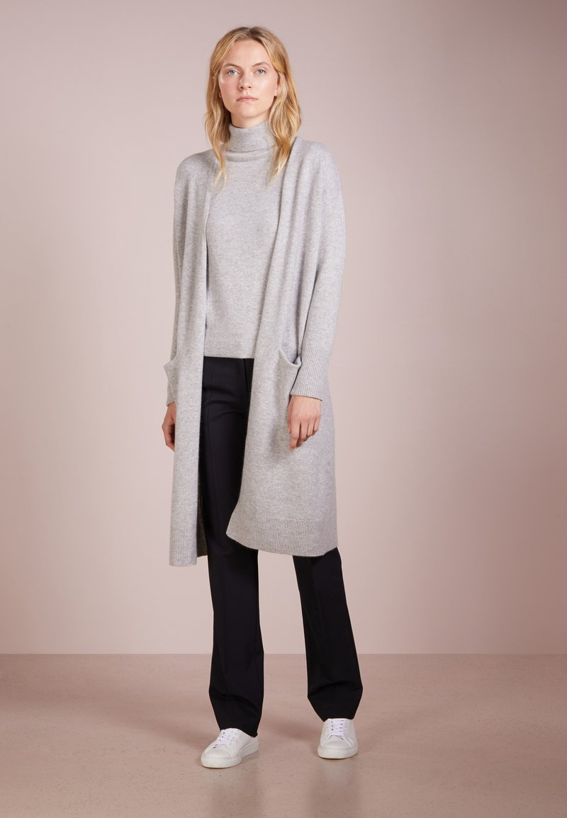 pure cashmere - LONG  - Vest - light grey