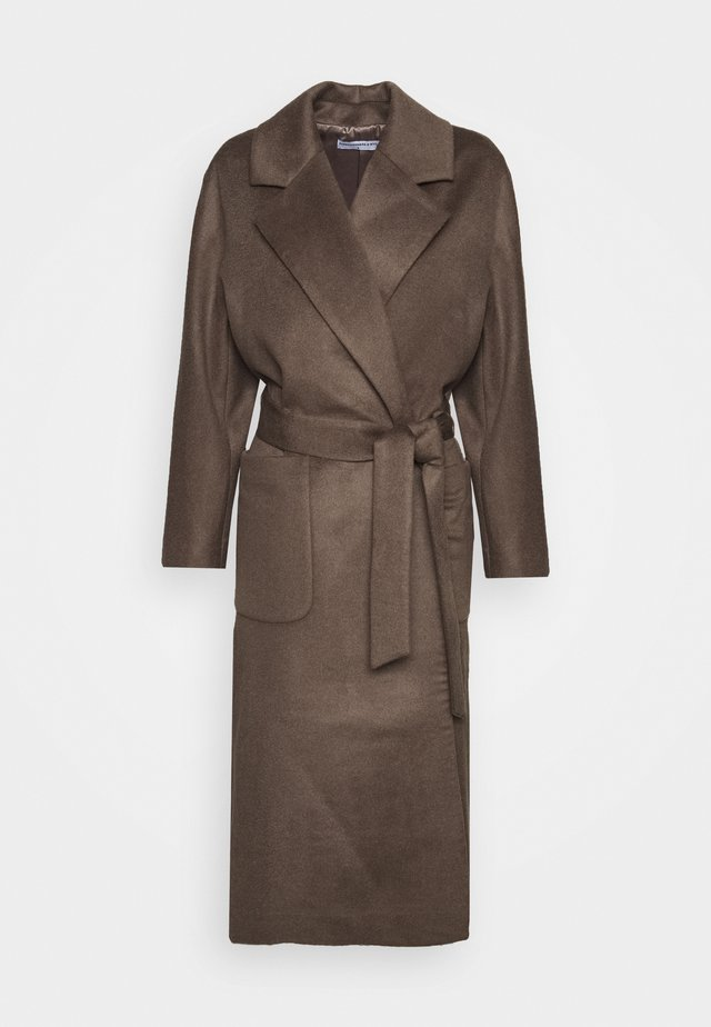 BELTED COAT - Cappotto classico - cocoa brown