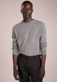 pure cashmere - MENS CREW NECK SWEATER - Strikkegenser - grey - 0