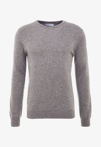 pure cashmere - MENS CREW NECK SWEATER - Strikkegenser - grey - 4